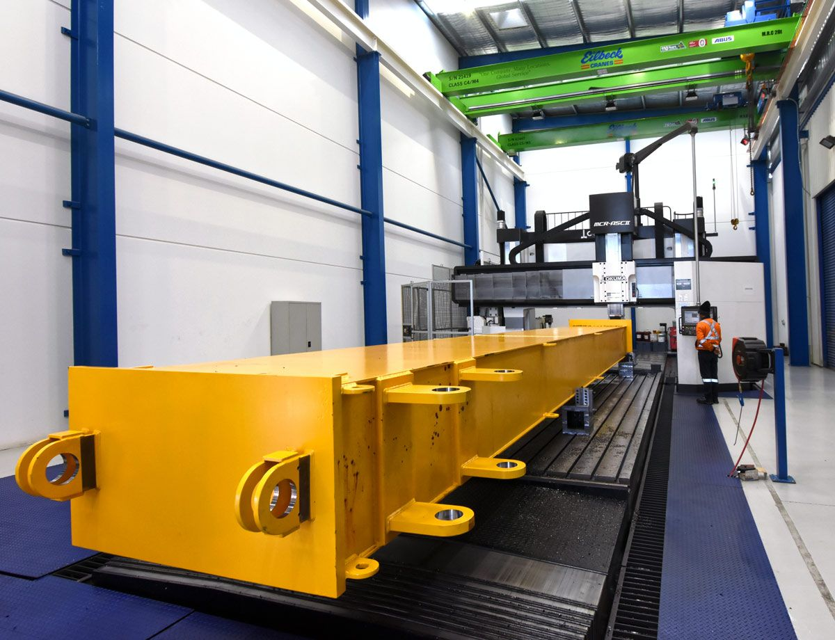 Eilbeck Heavy Machining Centre Utilising the Full Potential of Our